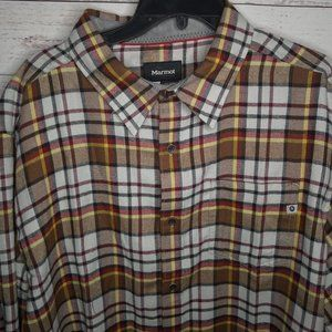 MARMOT FAIRFAX MIDWEIGHT FLANNEL LS MEN'S SHIRT